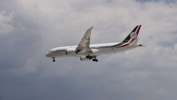El Boeing 787-8 presidencial de México - Sputnik Mundo