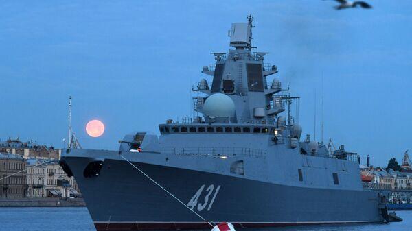 Almirante Kasatonov, fragata rusa del proyecto 22350 - Sputnik Mundo