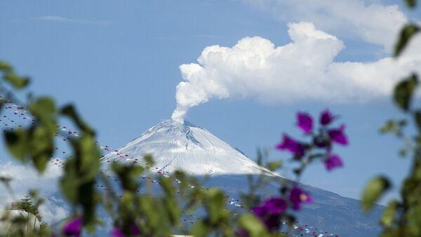 El volcán Popocatépetl, foto de archivo - Sputnik Mundo