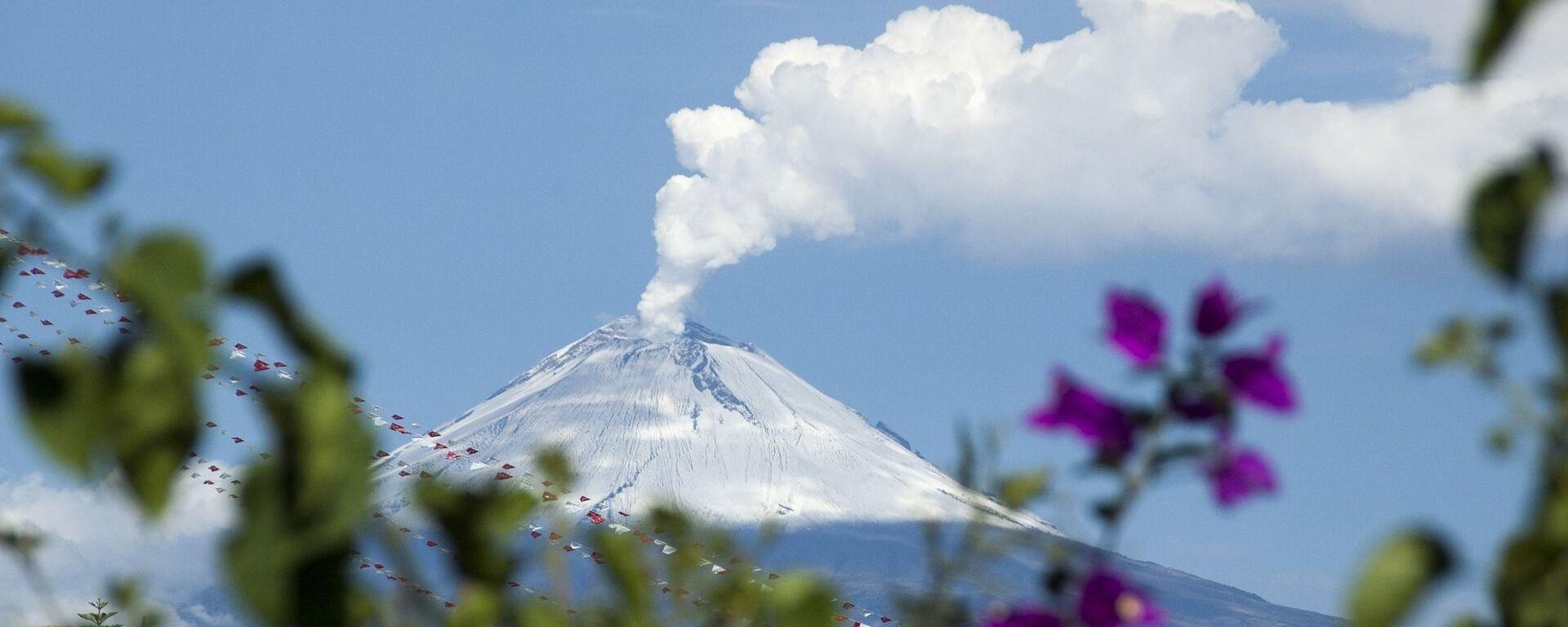 El volcán Popocatépetl, foto de archivo - Sputnik Mundo, 1920, 23.07.2020