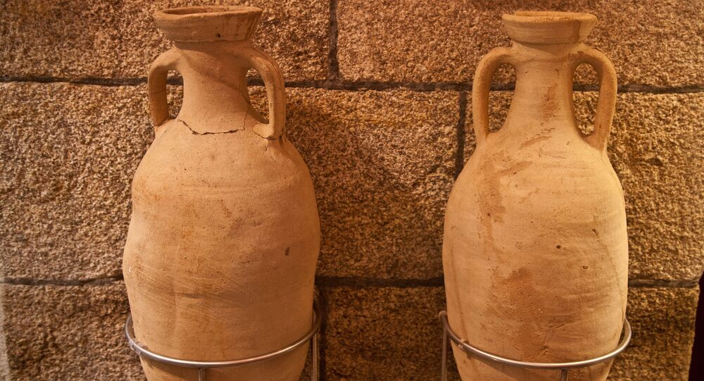 Ánforas romanas (imagen referencial)
