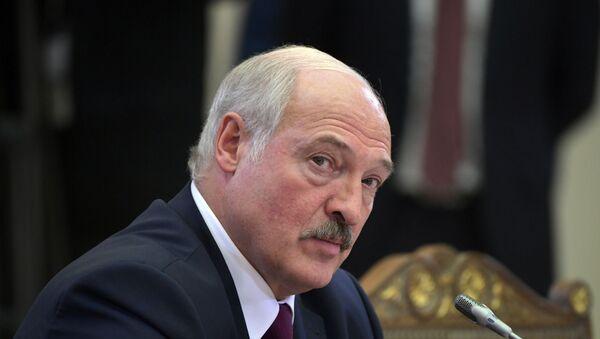 Alexandr Lukashenko, el presidente de Bielorrusia - Sputnik Mundo