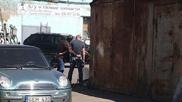 El lugar del secuestro en Poltava - Sputnik Mundo