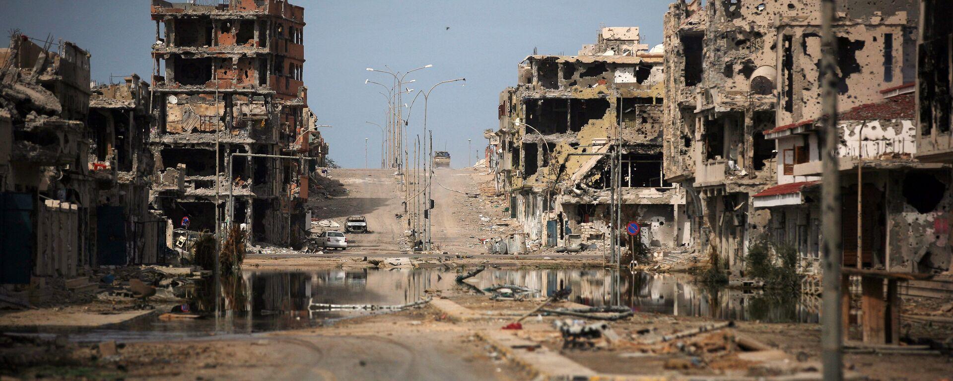 Las ruinas en la ciudad libia de Sirte - Sputnik Mundo, 1920, 23.06.2021