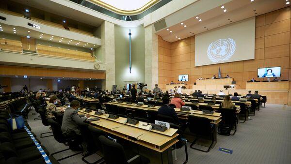 Un período de sesiones del Consejo de los DDHH de la ONU - Sputnik Mundo