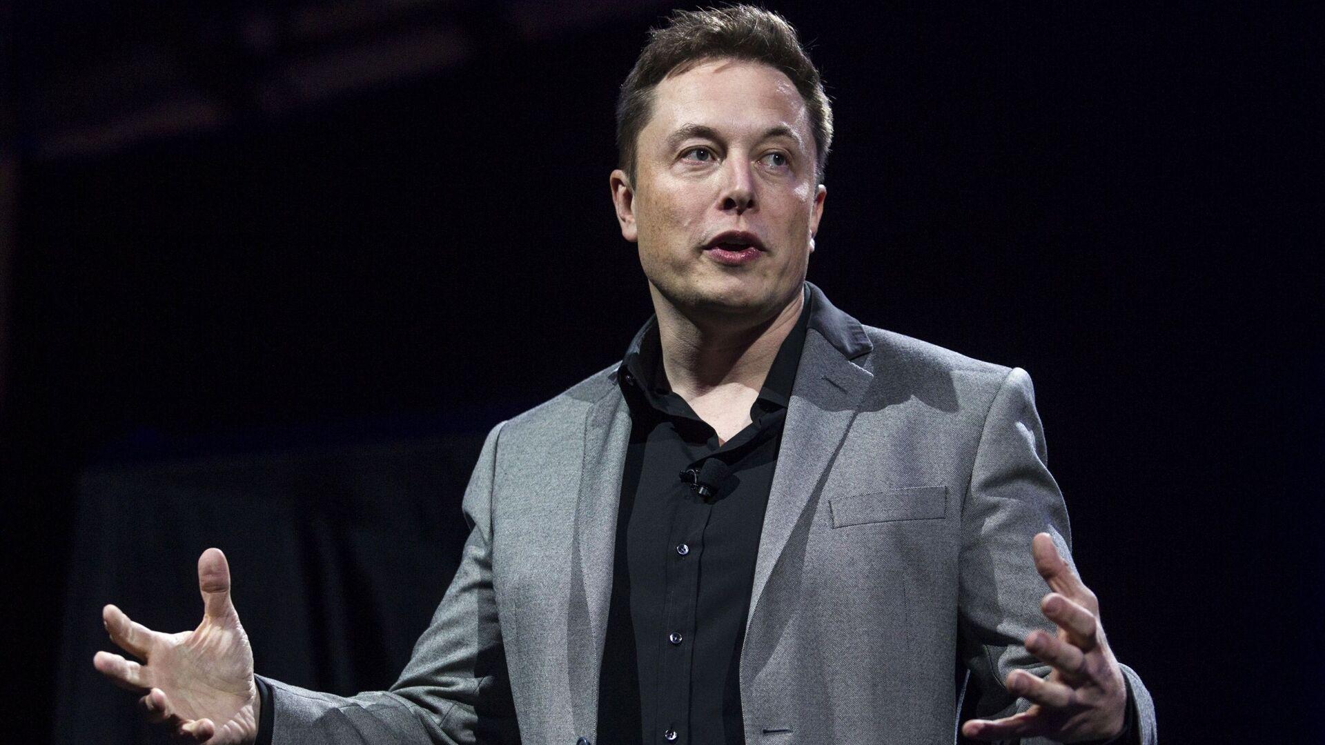 Elon Musk, director de Tesla - Sputnik Mundo, 1920, 09.05.2021