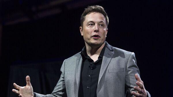 Elon Musk, director de Tesla - Sputnik Mundo