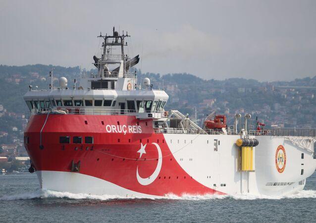 Un buque turco