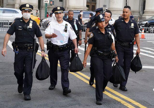 Agentes de la Policía estadounidense