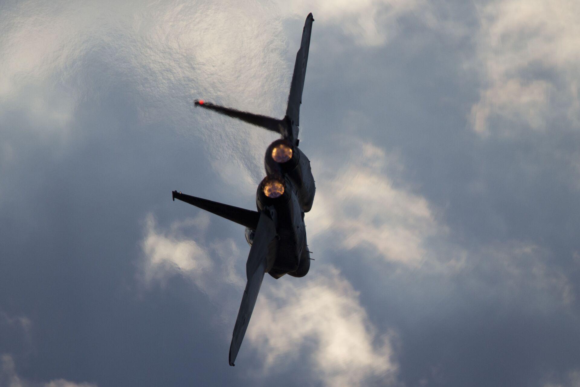 Un avión de caza F-15 israelí - Sputnik Mundo, 1920, 11.02.2021