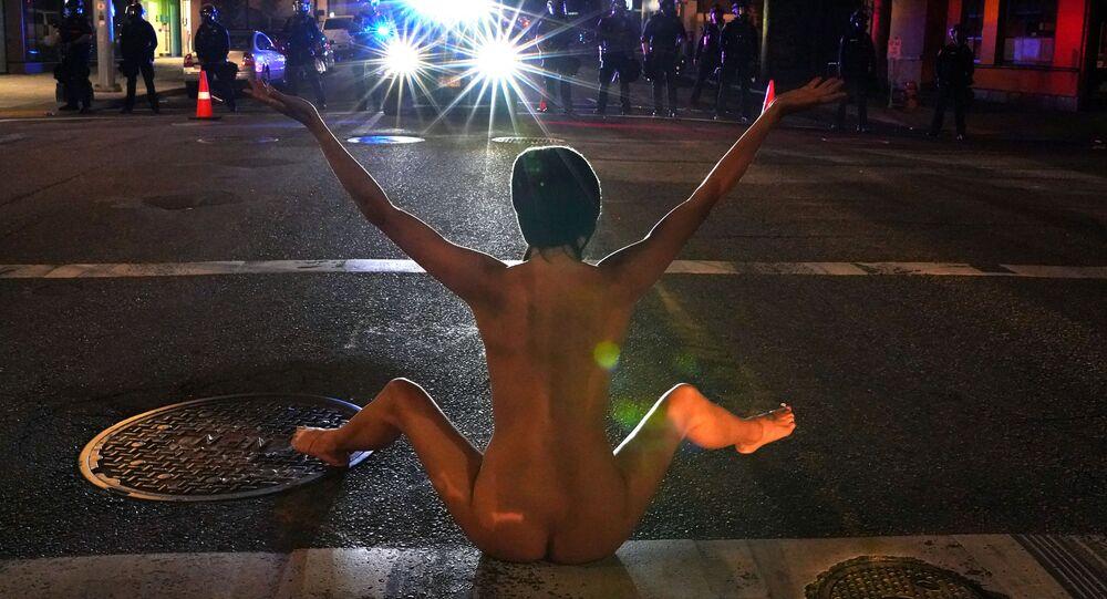 La 'Atenea desnuda'
