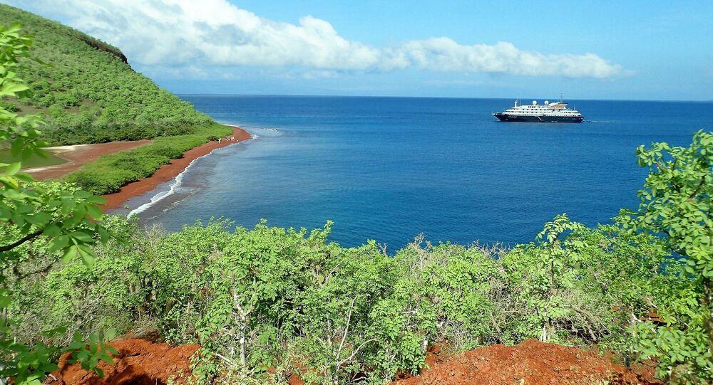Las islas Galápagos, referencial