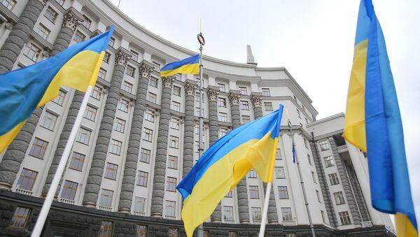 El edificio del Gobierno ucraniano en Kiev - Sputnik Mundo