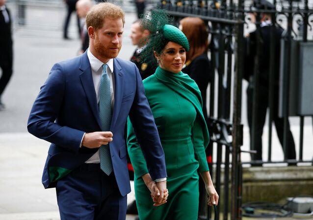 El príncipe Harry y Meghan, duquesa de Sussex