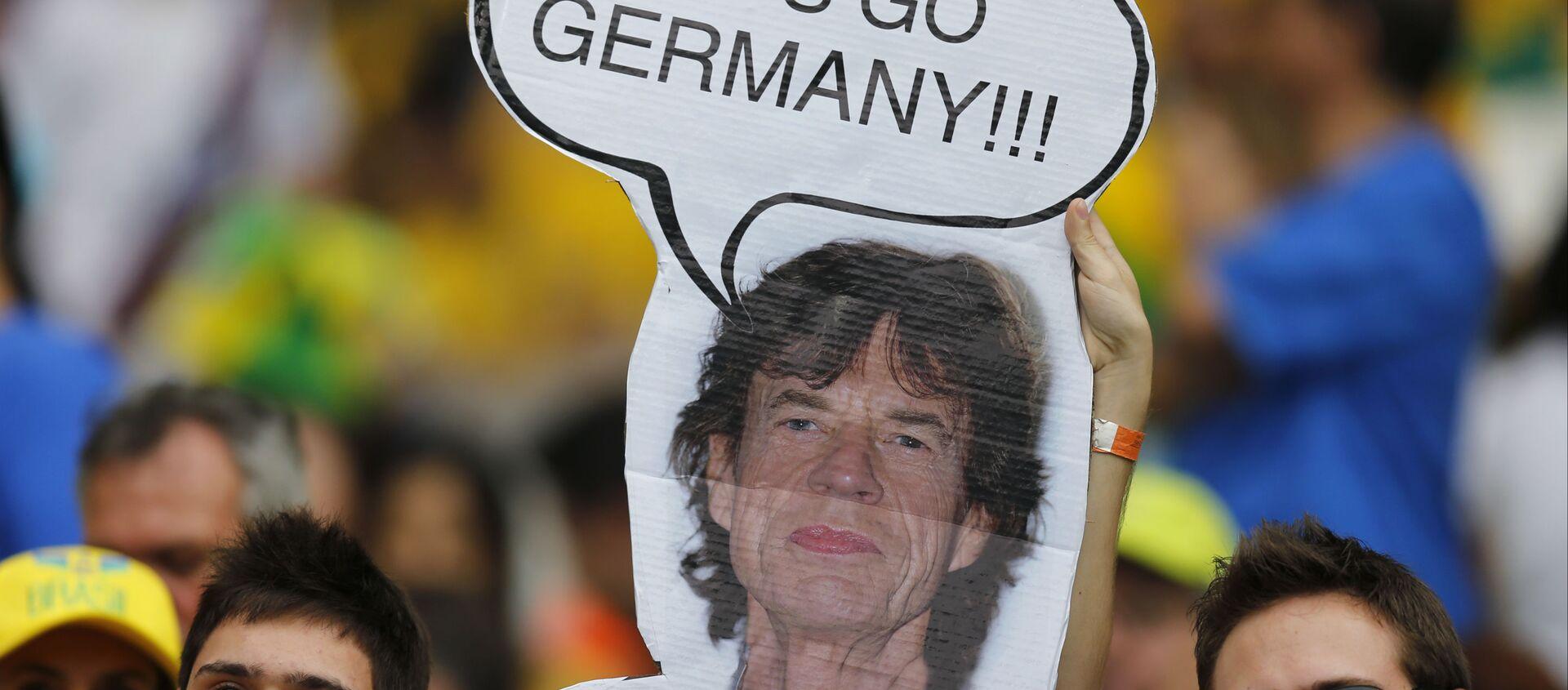 Hinchas de Brasil en semifinal del Mundial 2014 Alemania-Brasil - Sputnik Mundo, 1920, 24.07.2020