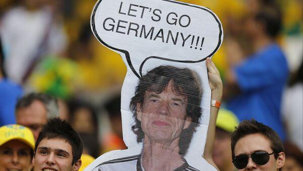 Hinchas de Brasil en semifinal del Mundial 2014 Alemania-Brasil - Sputnik Mundo