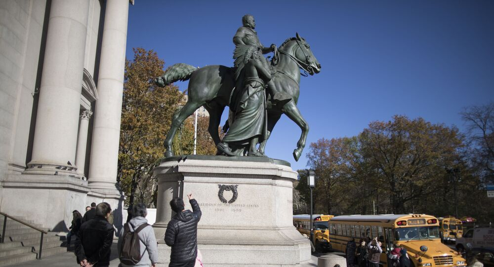 El monumento al expresidente de EEUU Theodore Roosevelt en Nueva York