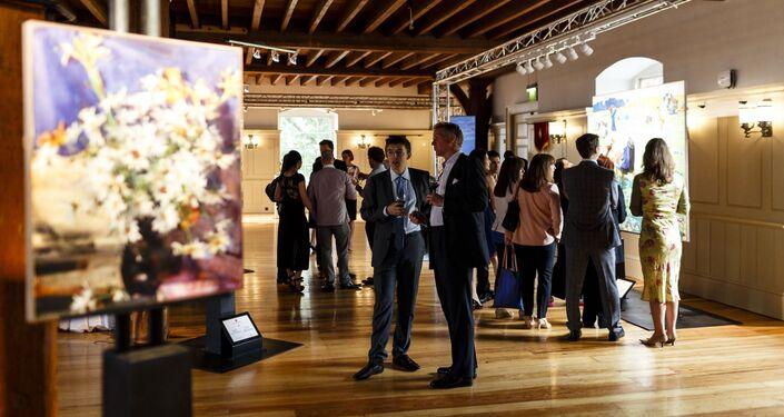 Exposiciones de la fundación Art Russe