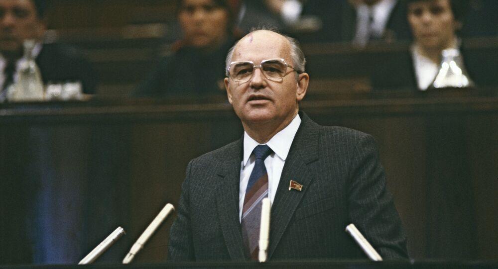 Mijaíl Gorbachov, el expresidente de la URSS (archivo)