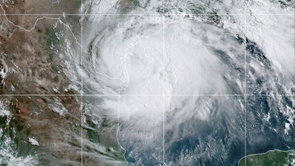 Imágenes satelitales del huracán Hanna - Sputnik Mundo