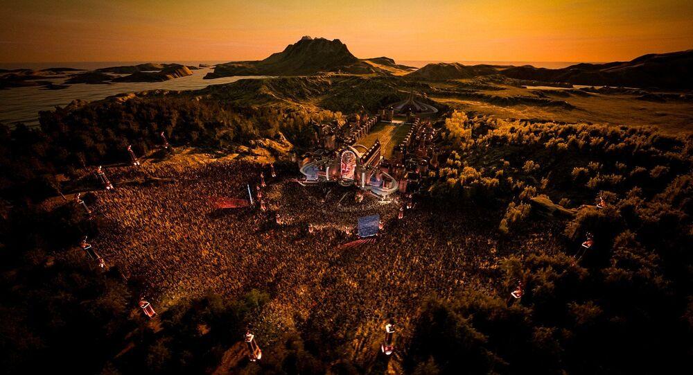 La versión virtual del festival de música electrónica Tomorrowland