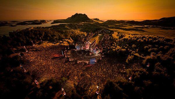La versión virtual del festival de música electrónica Tomorrowland - Sputnik Mundo