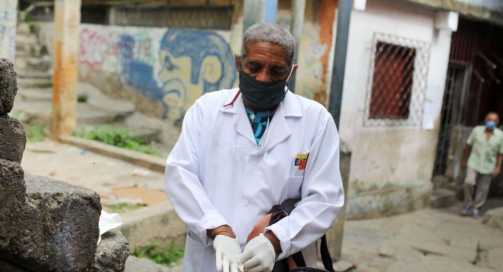 Un doctor en Las Mayas, Caracas