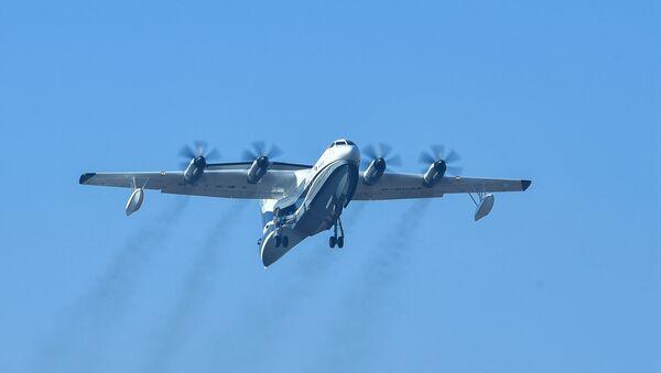 La aeronave anfibia AG600 de China - Sputnik Mundo