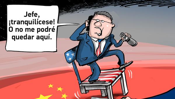 Lo que va, vuelve: China cierra el consulado general de EEUU en Chengdu - Sputnik Mundo