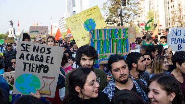 Marcha por el medioambiente - Sputnik Mundo