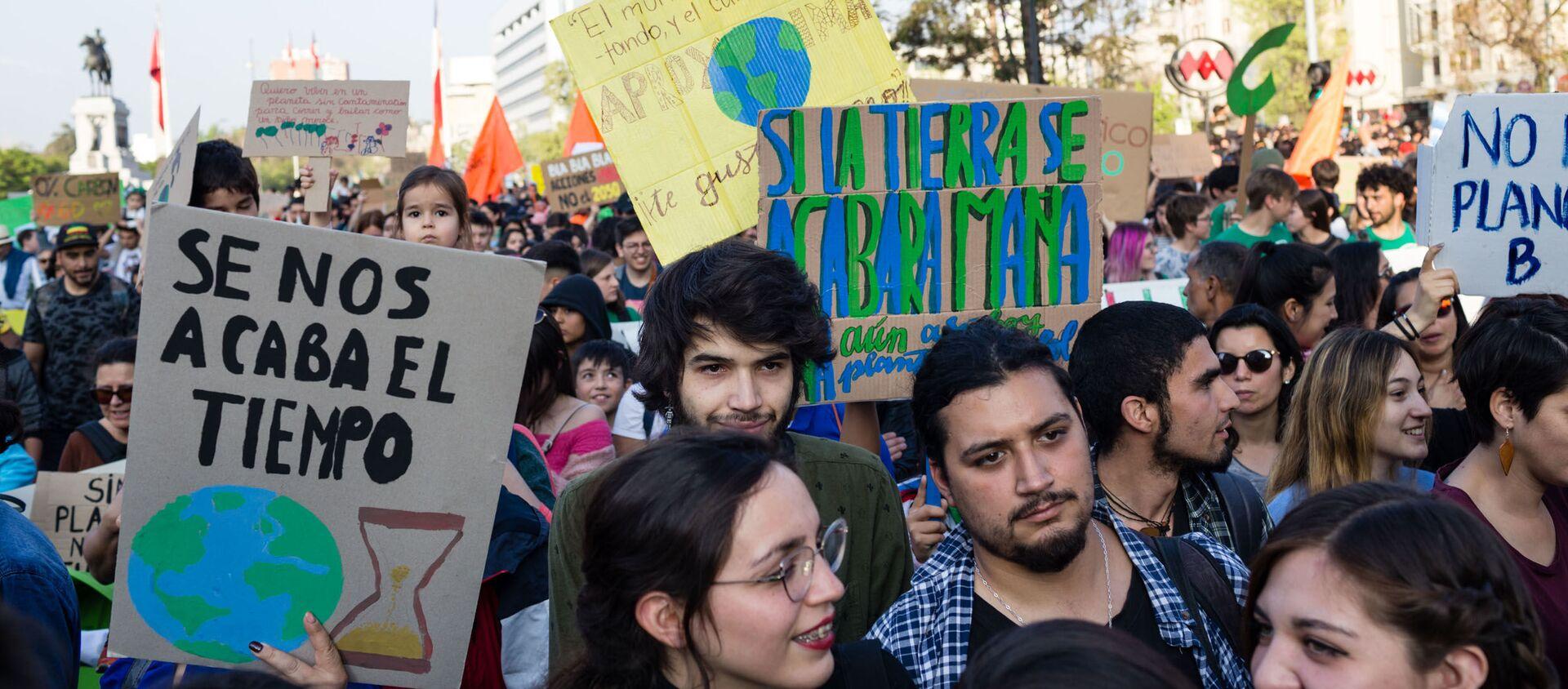 Marcha por el medioambiente - Sputnik Mundo, 1920, 27.07.2020