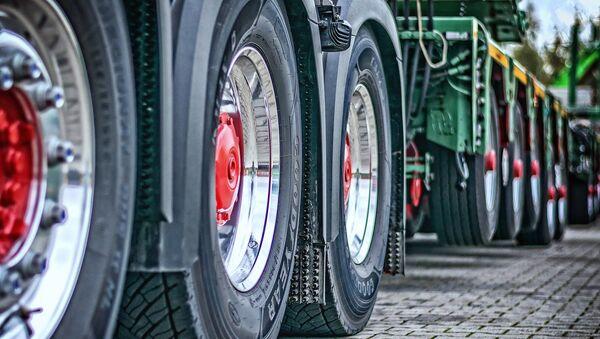 Camiones (imagen referencial) - Sputnik Mundo