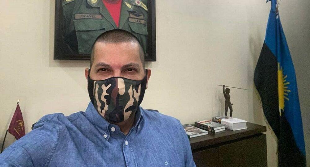 Omar Prieto, gobernador del estado venezolano de Zulia