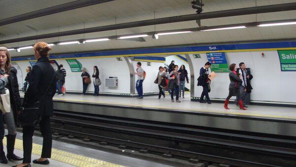 Metro de Madrid (imagen referencial) - Sputnik Mundo