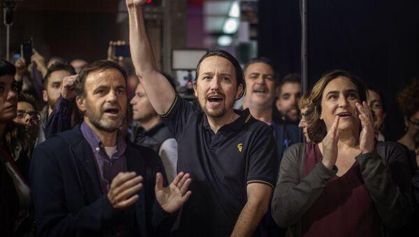 Dirigentes de Unidas Podemos. Barcelona, noviembre 2019 - Sputnik Mundo