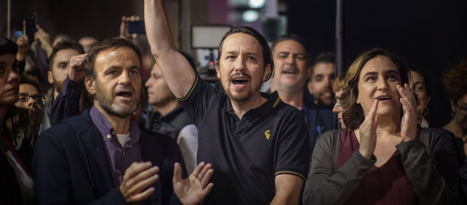Dirigentes de Unidas Podemos. Barcelona, noviembre 2019 - Sputnik Mundo, 1920, 28.07.2020