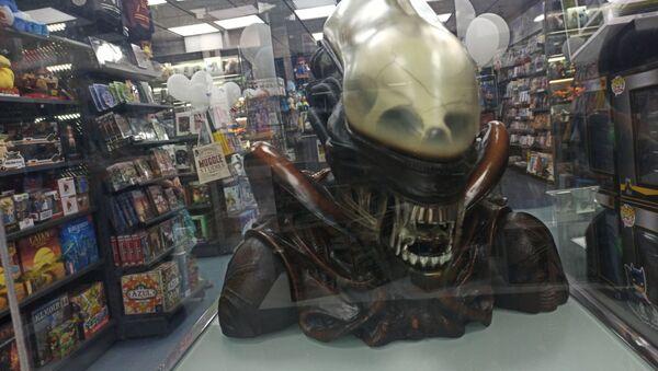 Interior de la tienda de cómics Nostromo - Sputnik Mundo
