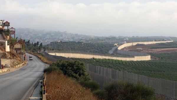 La frontera entre Israel y el Líbano - Sputnik Mundo