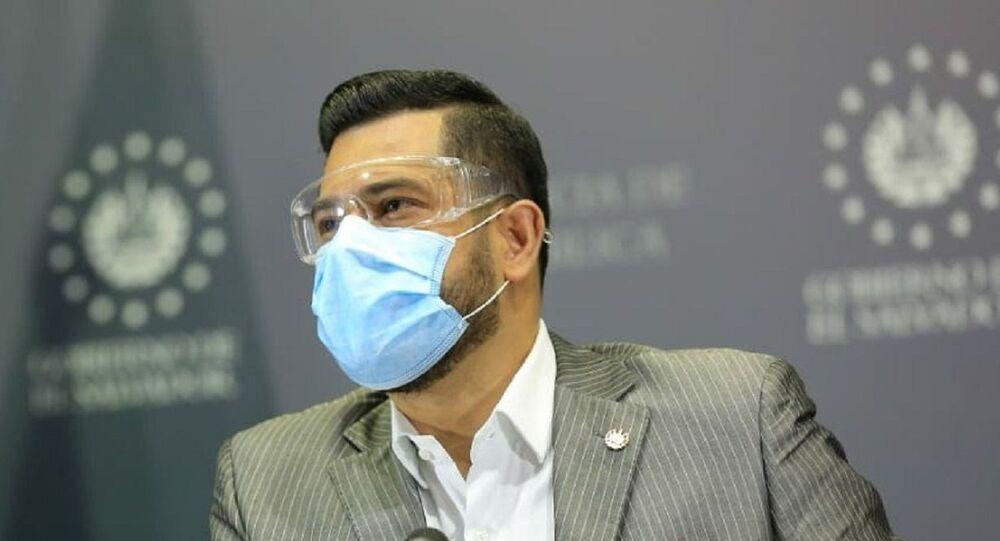 Nelson Fuentes, exministro de Hacienda de El Salvador