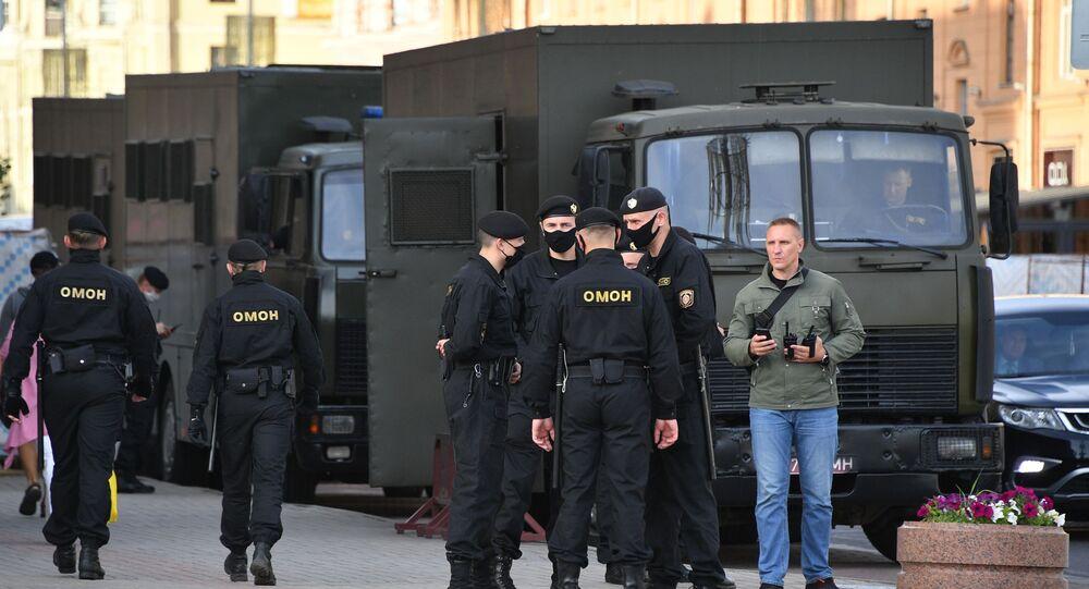 Policía de Bielorrusia (archivo)