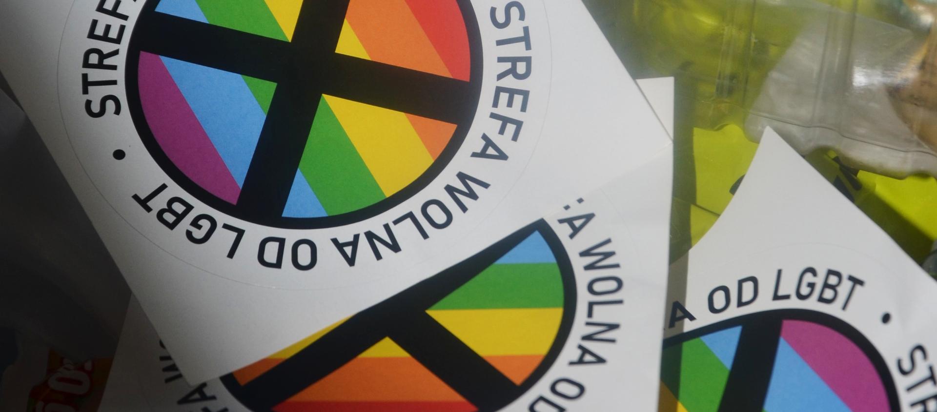 El logo de las 'zonas libres de LGBT' - Sputnik Mundo, 1920, 29.07.2020