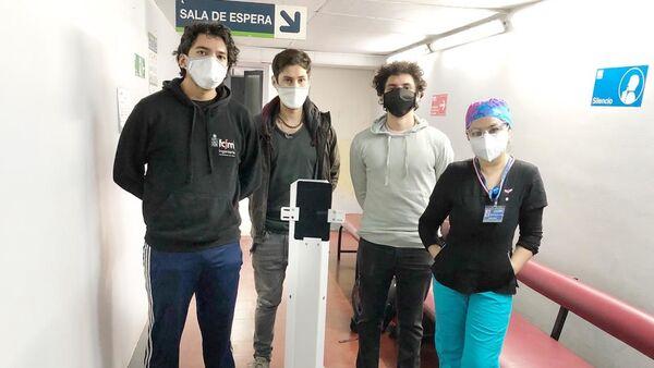 Pudú, robot de teleasistencia médica diseñado en Chile - Sputnik Mundo
