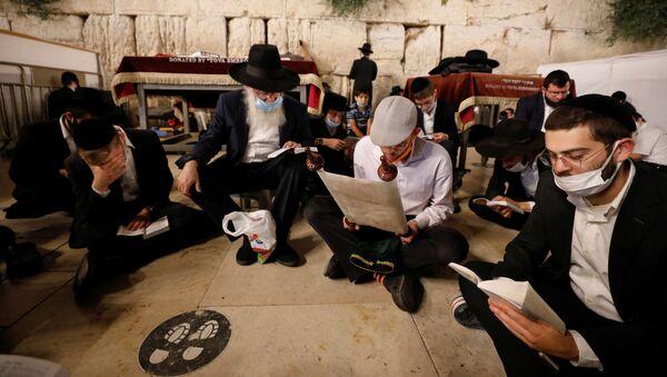 Judíos durante la festividad de Tesha b'Av - Sputnik Mundo