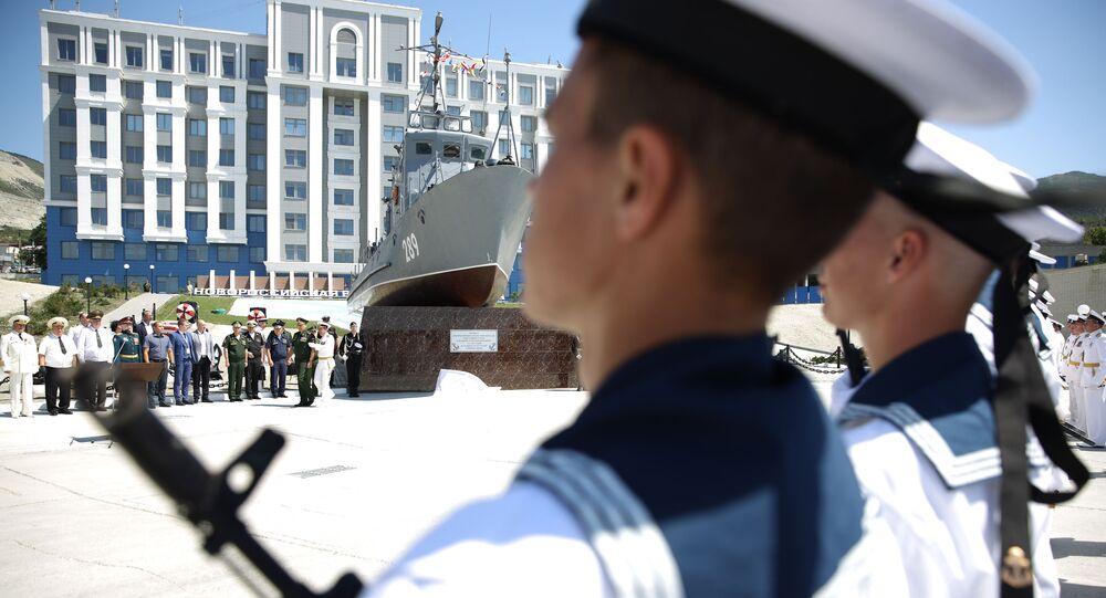 Militares de la Armada rusa (imagen referencial)