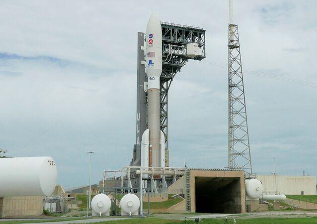 El cohete Atlas V con la misión Mars 2020 Perseverance