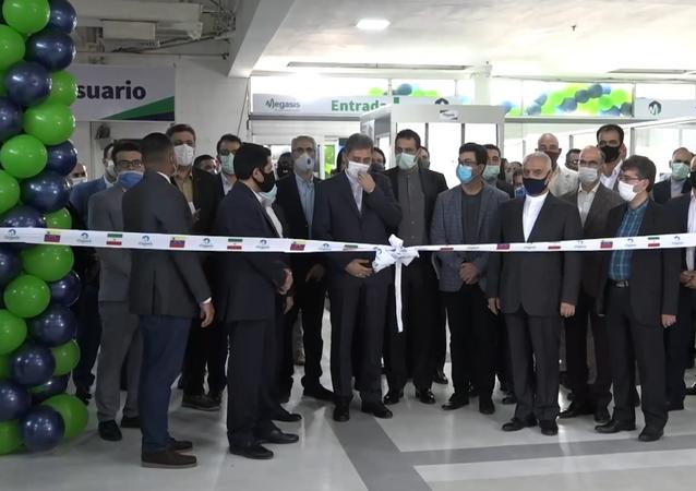 El primer supermercado con productos iraníes abre en Caracas