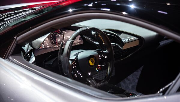 Interior Ferrari SF90 Stradale - Sputnik Mundo