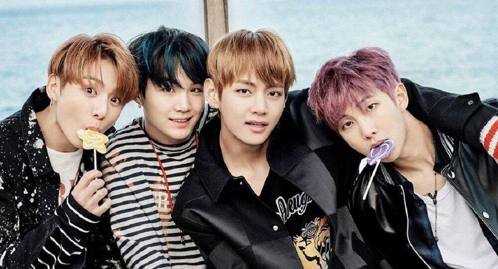 Los integrantes de BTS, grupo del k-pop