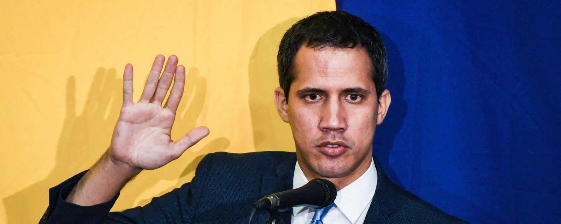 Juan Guaidó, dirigente opositor venezolano - Sputnik Mundo, 1920, 13.05.2021