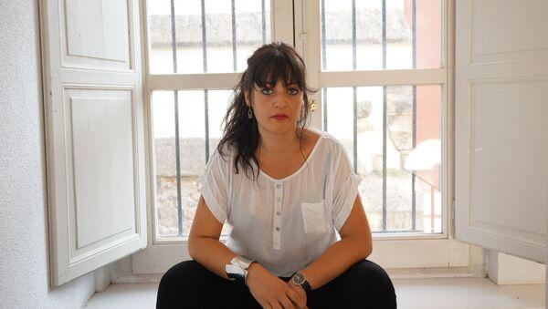 La activista Amelia Tiganus, víctima de trata en España - Sputnik Mundo